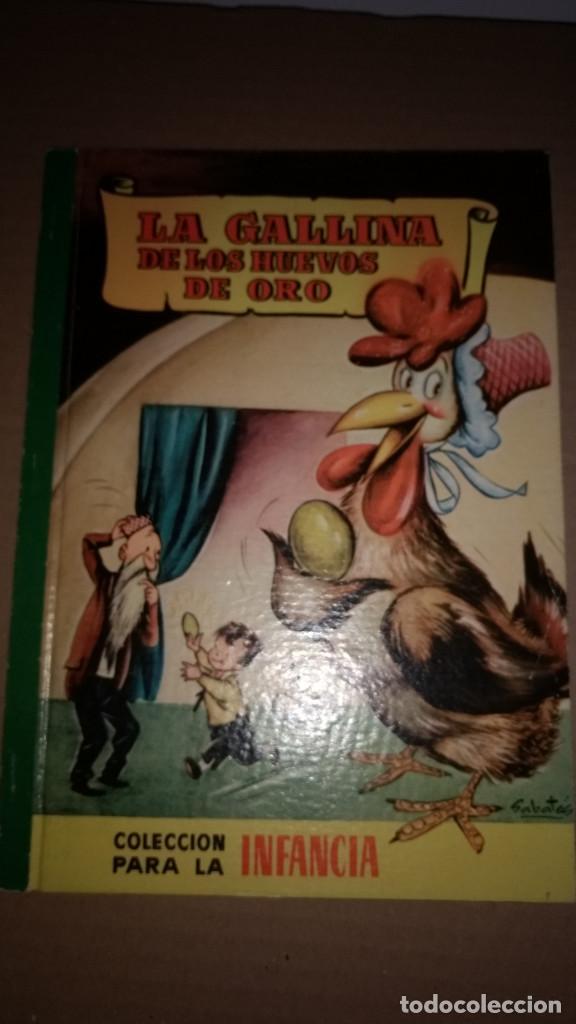 LA GALLINA DE LOS HUEVOS DE ORO COLECCION PARA LA INFANCIA BRUGUERA 2º EDI.1958 (Libros de Segunda Mano - Literatura Infantil y Juvenil - Cuentos)