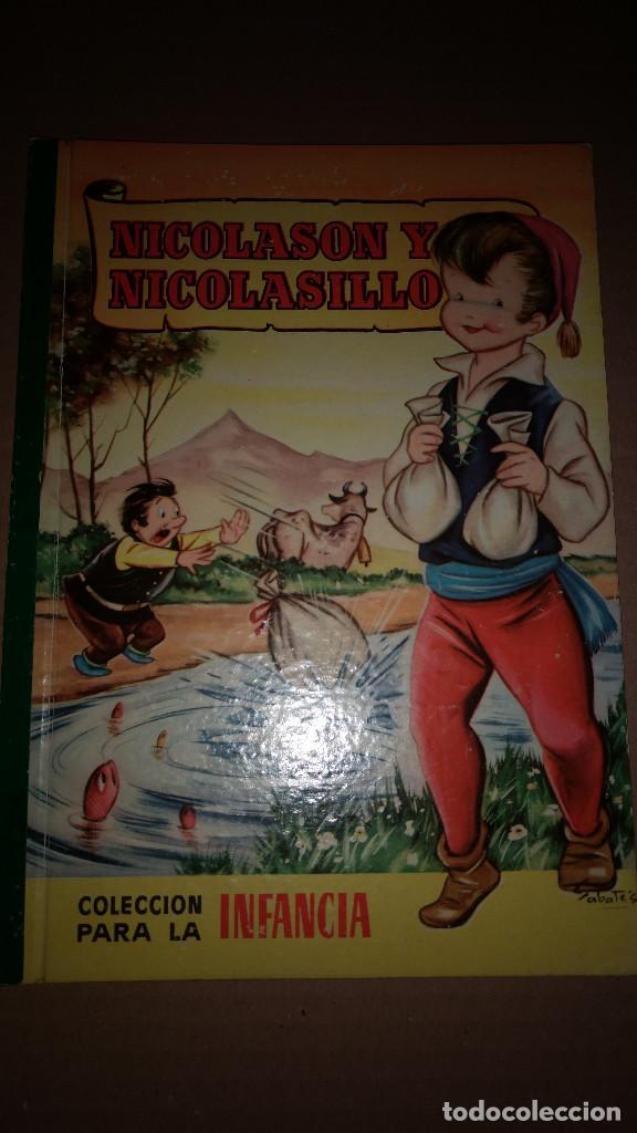 NICOLASON Y NICOLASILLO COLECCION PARA LA INFANCIA BRUGUERA 1º EDI.1957 (Libros de Segunda Mano - Literatura Infantil y Juvenil - Cuentos)