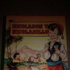 Libros de segunda mano: NICOLASON Y NICOLASILLO COLECCION PARA LA INFANCIA BRUGUERA 1º EDI.1957. Lote 91393440