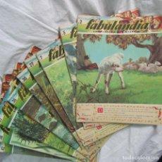 Libros de segunda mano: 9 NÚMEROS DE FABULANDIA ENCICLOPEDIA DE LA FÁBULA CUENTOS FÁBULAS ILUSTRADAS 1963-1964. Lote 91851850