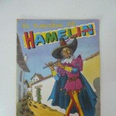 Libros de segunda mano: EL FLAUTISTA DE HAMELIN. PEQUEÑOS ÁLBUMES ELSA. Nº 4.. Lote 92007230