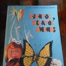 Libros de segunda mano: CUENTOS Y RELATOS AMENOS. Mª DEL CARMEN CIMADEVILLA BRAVO. OVIEDO, 1979. TIENE UNA DEDICATORIA. RUST. Lote 92092575