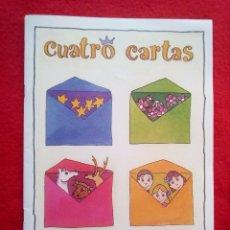 Libros de segunda mano: ALCALA DE GUADAIRA CUATRO CARTAS JOSE CORZO JORGE RICO 200 GRS 25 CMS. Lote 92417775