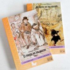 Libros de segunda mano: EL VIENTO EN LOS SAUCES. 2 TOMOS. LIBROS NUEVOS. Lote 92765355
