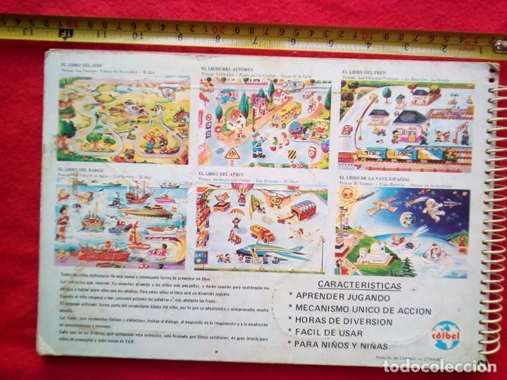 Libros de segunda mano: LIBRO JUGUETE EL LIBRO DEL TREN COIBEL AÑOS 50? 8 PAGINAS EN CARTONE RIGIDO - Foto 2 - 92847230