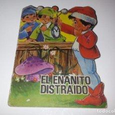 Libros de segunda mano: ANTIGUO CUENTO TROQUELADO EL ENANITO DISTRAIDO COLECCION TROQUELADOS CLASICOS Nº 70 AÑOS 60 ED FERMA. Lote 92879455