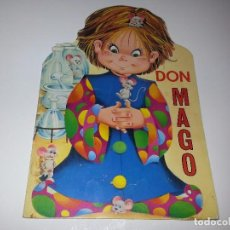 Libros de segunda mano: ANTIGUO CUENTO TROQUELADO DON MAGO SERIE MAGDA Nº 23 EDITORIAL GOYA AÑOS 70. Lote 92879580