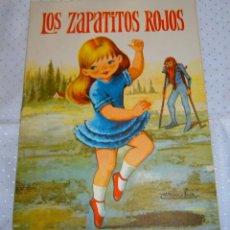 Libros de segunda mano: LOS ZAPATITOS ROJOS EDITORIAL FERMA -COLECCION- ESTRELLA DE COLOR AÑO 1966. Lote 93093785