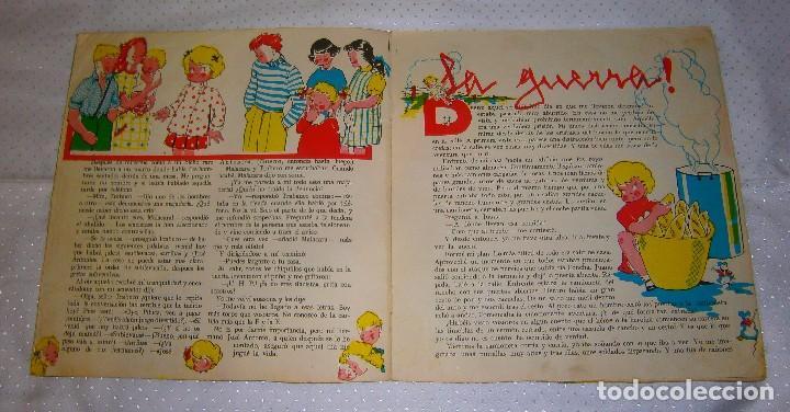 Libros de segunda mano: MARI-PEPA ENTRE LOS ROJOS Nº2 AÑO 1939 MUY RARO DE VERLO EN VENTA EN LA ACTUALIDAD - Foto 4 - 93359300