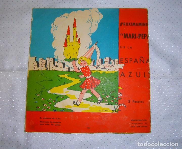 Libros de segunda mano: MARI-PEPA ENTRE LOS ROJOS Nº2 AÑO 1939 MUY RARO DE VERLO EN VENTA EN LA ACTUALIDAD - Foto 9 - 93359300
