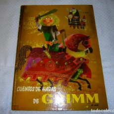 Libros de segunda mano: CUENTOS DE HADAS GRIMM 2ª SERIE EDITORIAL MOLINO AÑO 1959 BARCELONA. Lote 93396075