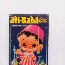 Libros de segunda mano: ALI-BABA Y LOS CUARENTA LADRONES; EDIT. BRUGUERA, AÑO 1973 COLECCION HEIDI . ILUSTRADO. Lote 93729385