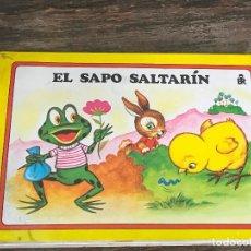 Libros de segunda mano: CUENTO PANORAMICOS EL SAPO SALTARIN EDITORIAL ROMA POP UP. Lote 93741745