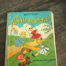 Libros de segunda mano: LIBRO LECTURAS PARA NIÑAS PEQUEÑAS NIÑAS CANDOROSAS EDITORIAL SALVATELLA. Lote 93748590
