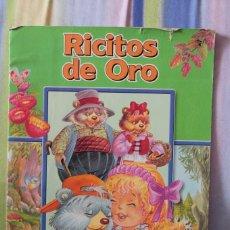 Libros de segunda mano: CUENTO RICITOS DE ORO-COLECCION PERLA. Lote 94281350