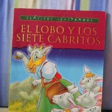 Libros de segunda mano: EL LOBO Y LOS SIETE CABRITILLOS-SUSAETA. Lote 94351758