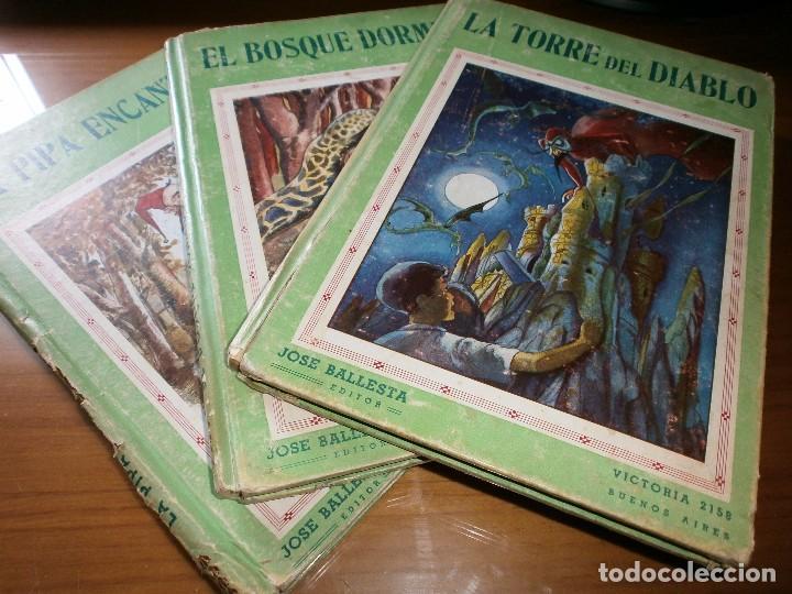 LOTE 3 LIBROS COLECCIÓN MARAVILLA - Nº 1, 2, 3 - JOSÉ BALLESTA EDITOR , BUENOS AIRES (Libros de Segunda Mano - Literatura Infantil y Juvenil - Cuentos)