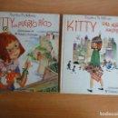 Libros de segunda mano: SERIE KITTY COMPLETA. MARTHA M. ALFONSO (ED. ROMA, 1963) 2 TOMOS. MUY BUEN ESTADO. Lote 95054911