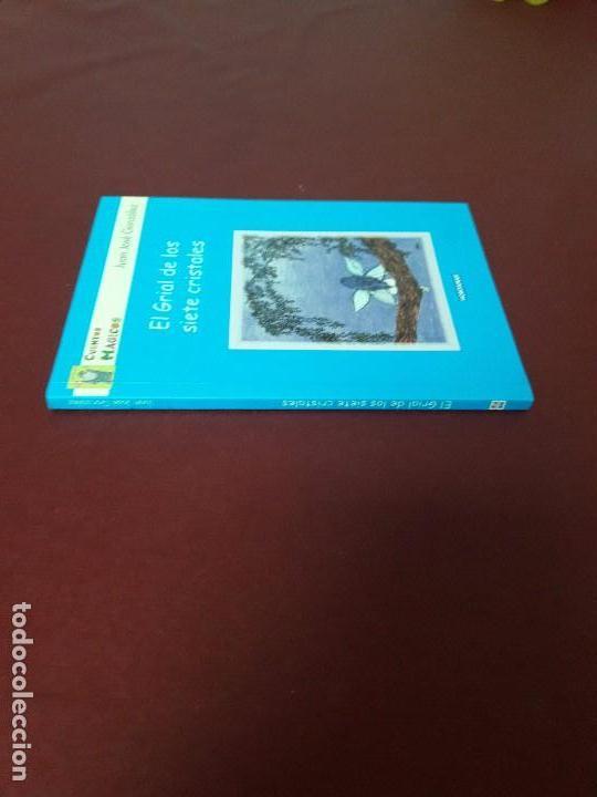 Libros de segunda mano: El grial de los siete cristales. Juan José González. - Foto 3 - 95312043