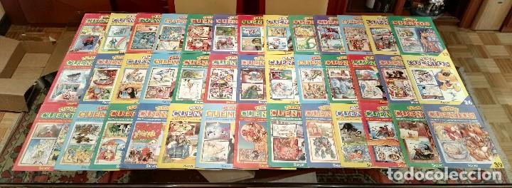 COLECCIÓN COMPLETA CUENTA CUENTOS SALVAT (39 FASCÍCULOS) AÑOS 80 (Libros de Segunda Mano - Literatura Infantil y Juvenil - Cuentos)