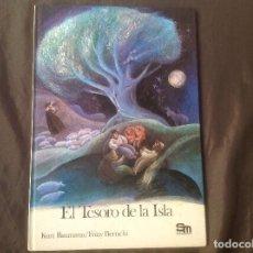Libros de segunda mano: EL TESORO DE LA ISLA, KURT BAUMANN Y FRINY BERTSCHI EDITORIAL SM 1983. Lote 95840119
