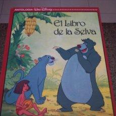 Libros de segunda mano: ANTOLOGIA WALT DISNEY -- DOS FAMOSAS PELICULAS -- LOTE 11 TOMOS -- EVEREST 1992 --. Lote 95873759