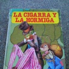 Libros de segunda mano: LA CIGARRA Y LA HORMIGA / CABELLOS DE ORO Y LOS TRES OSOS / LA RATITA PRESUMIDA -- BRUGUERA 1979 --. Lote 95959023