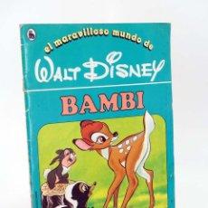 Libros de segunda mano: EL MARAVILLOSO MUNDO DE WALT DISNEY 7. BAMBI BRUGUERA, 1986. Lote 96011968
