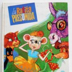 Libros de segunda mano: LA RATITA PRESUMIDA - EDITORIAL CULTURA Y PROGRESO - BILBAO 1973 - TAPA DURA. Lote 96423903