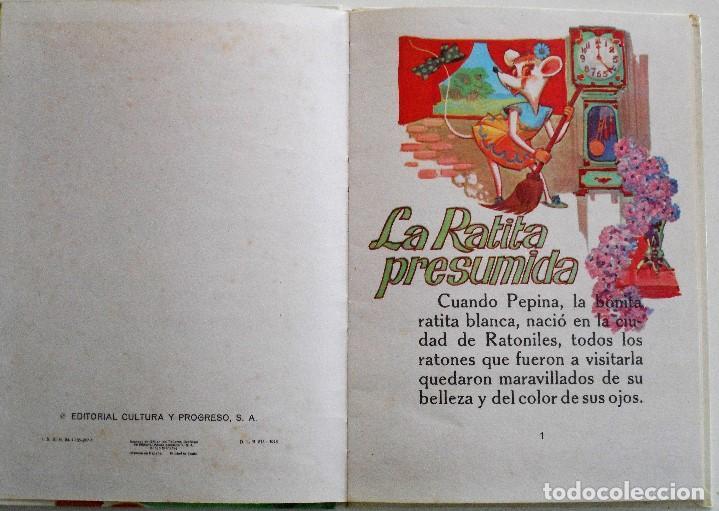 Libros de segunda mano: LA RATITA PRESUMIDA - EDITORIAL CULTURA Y PROGRESO - BILBAO 1973 - TAPA DURA - Foto 2 - 96423903