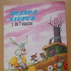 Libros de segunda mano: CUENTO BLANCANIEVES Y LOS 7 ENANITOS CUENTOS FHER 1977 EL TEATRO DE LOS ANIMALES. Lote 96532851
