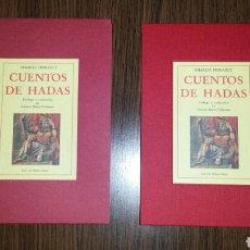 Libros de segunda mano: LIBRO CUENTOS DE HADAS DE CHARLES PERRAULT. Lote 96799286