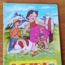 Libros de segunda mano: HEIDI EN UN PASTEL MUSICAL. CUENTOS TROQUELADOS HEIDI 7. BRUGUERA 1975 ZUIYO ENTERPRISES. Lote 96921343