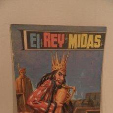 Libros de segunda mano: EL REY MIDAS , FANTASIAS EVA Nº 7 EDITORIAL VASCO AMERICANA 1965. Lote 96969223