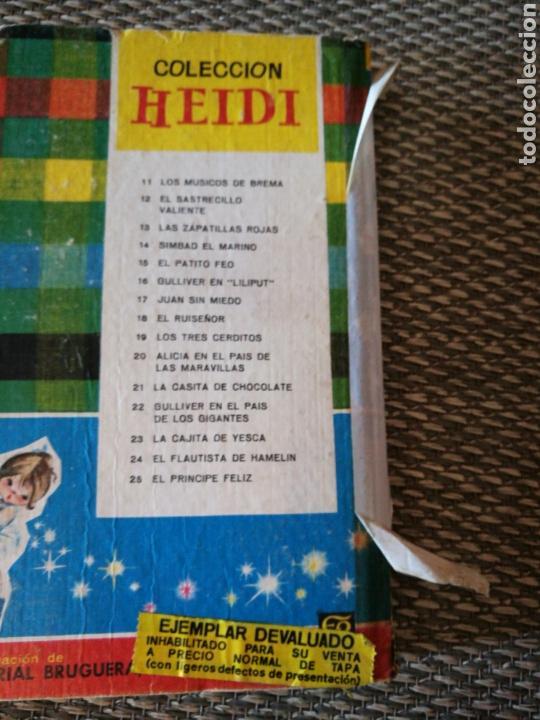 Libros de segunda mano: Diferentes titulos de la Colección Heidi, Editorial Bruguera - Foto 4 - 140937369