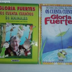 Libros de segunda mano: 2 LIBROS. GLORIA FUERTES OS CUENTA CUENTOS.. Lote 97240294