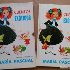 Libros de segunda mano: LIBRO CUENTOS EXÓTICOS MARÍA PASCUAL 1973. Lote 97490739