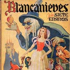 Libros de segunda mano: BLANCANIEVES Y LOS SIETE ENANOS (SOPENA, 1942). Lote 97721043