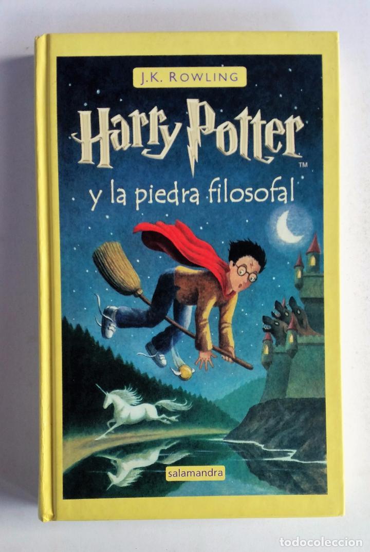 harry potter y la piedra filosofal - j. k. rowl - Comprar