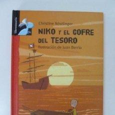 Libros de segunda mano: NIKO Y EL COFRE DEL TESORO. CHRISTINE NÖSTLINGER. Lote 97800735
