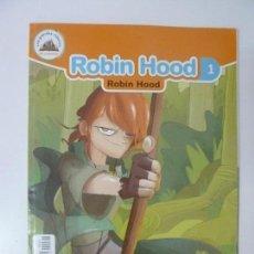 Libros de segunda mano: ROBIN HOOD. EDICIÓN BILINGÜE. ESPAÑOL. INGLÉS.. Lote 97848835