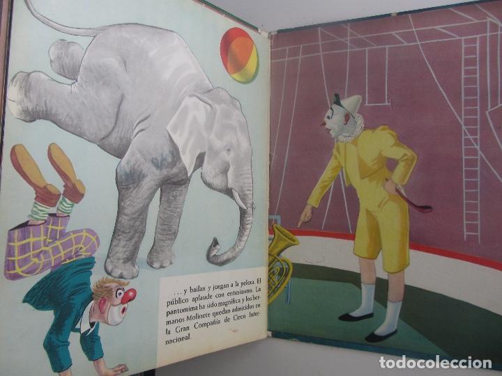 Libros de segunda mano: PRECIOSO Y ANTIGUO LIBRO EL CIRCO - AGUILAR - AÑO 1966 - COLECCION EL GLOBO DE COLORES - MITOS Y LE - Foto 2 - 161071797