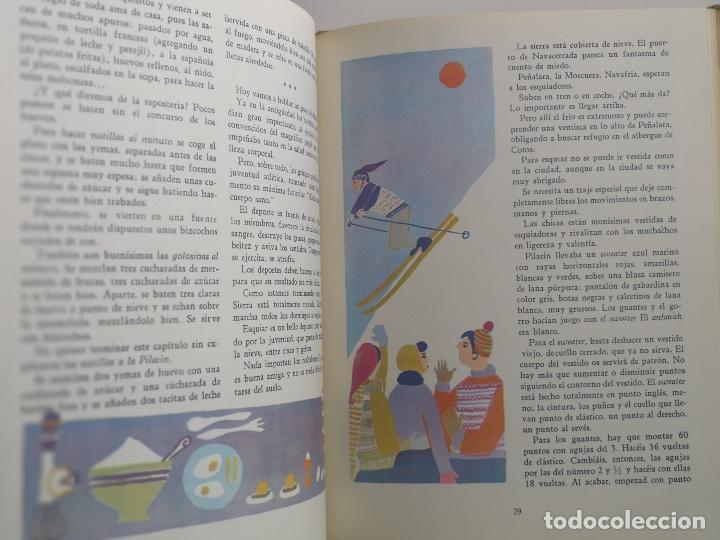 Libros de segunda mano: PRECIOSO Y ANTIGUO LIBRO SOLO PARA NIÑAS - AGUILAR - COLECCION EL GLOBO DE COLORES - MITOS Y LEYEN - Foto 2 - 97991867
