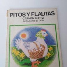 Libros de segunda mano: PITOS Y FLAUTAS. Lote 98364779