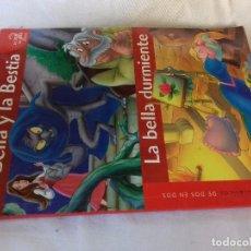 Libros de segunda mano: LA BELLA Y LA BESTIA-LA BELLA DURMIENTE-SERVILIBRO. Lote 98406191