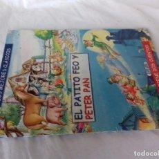 Libros de segunda mano: EL PATITO FEO Y PETER PAN-LOS MEJORES CLASICOS-SERVILIBRO. Lote 98406275