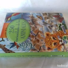Libros de segunda mano: 250 CURIOSIDADES DE LOS ANIMALES-SUSAETA-. Lote 98428579