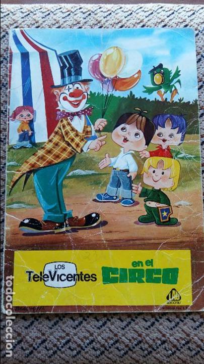 CUENTO INFANTIL LOS TELEVICENTES EN EL CIRCO. EDICIONES LAU. 1976 (Libros de Segunda Mano - Literatura Infantil y Juvenil - Cuentos)
