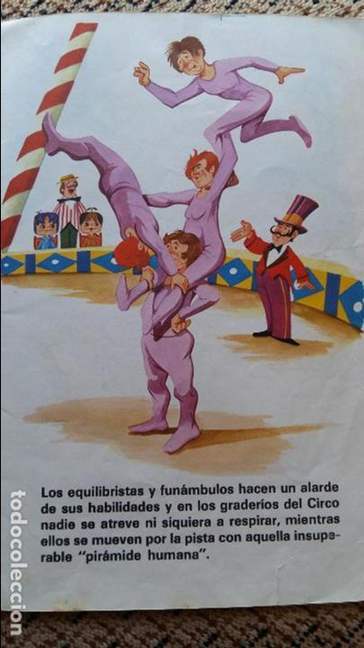 Libros de segunda mano: CUENTO INFANTIL LOS TELEVICENTES EN EL CIRCO. EDICIONES LAU. 1976 - Foto 2 - 98786203