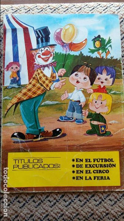 Libros de segunda mano: CUENTO INFANTIL LOS TELEVICENTES EN EL CIRCO. EDICIONES LAU. 1976 - Foto 3 - 98786203